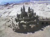 castillos de sol y arena