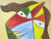 cabeça-máscara xii - anézio