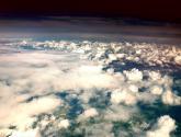 vistas desde el avión ( de londres a sevilla)