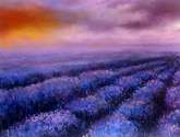 paisaje en malva
