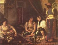 women of algiers in their rooms, 1834
