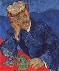 portrait of doctor gachet
