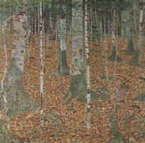 birkenwald/buchenwald (birch forest / beech forest), 1903