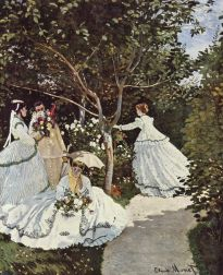 femmes au jardin (women in the garden), 1867