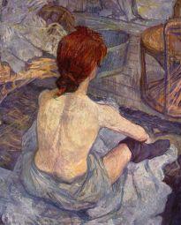 la toilette (the redhead)
