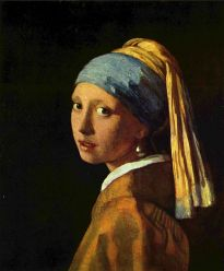 head of a young girl (girl with a pearls earring)