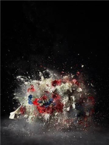 Blow Up. Sin titulo 5, por Ori Gersht, 2007
