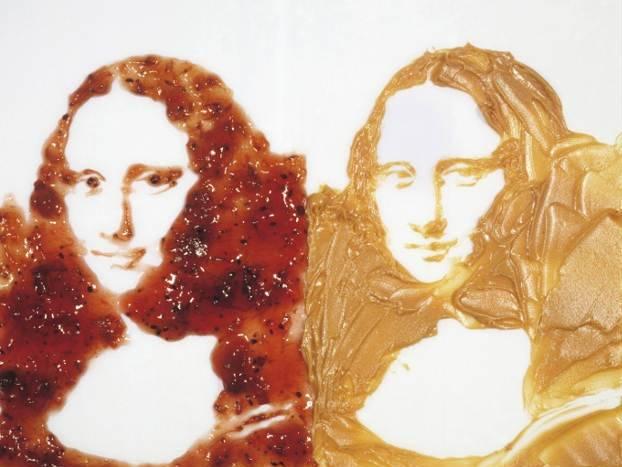 Doble Mona Lisa, por Vik Muniz, 1999