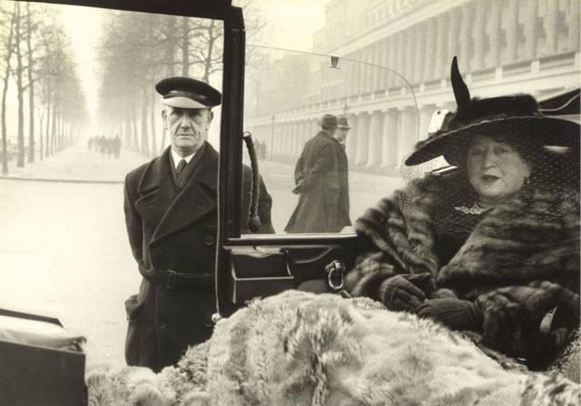 Mayfair, por Inge Morath, 1953