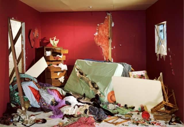 La habitación destruida, por Jeff Wall. 1978